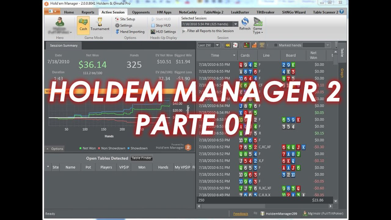 Grafici holdem manager 2
