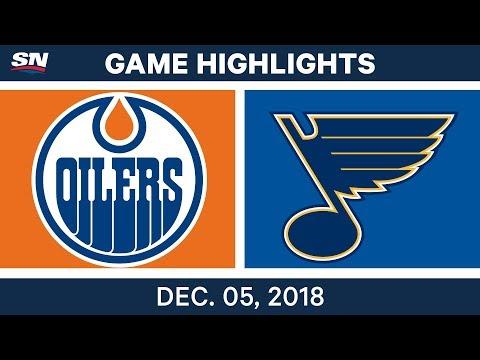 NHL Highlights | Oilers vs. Blues - Dec 5, 2018