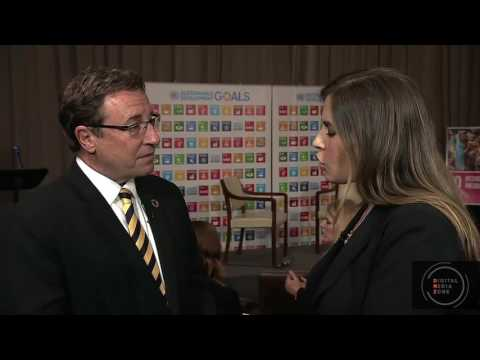 Achim Steiner Interviewed at the Digital Media Zone