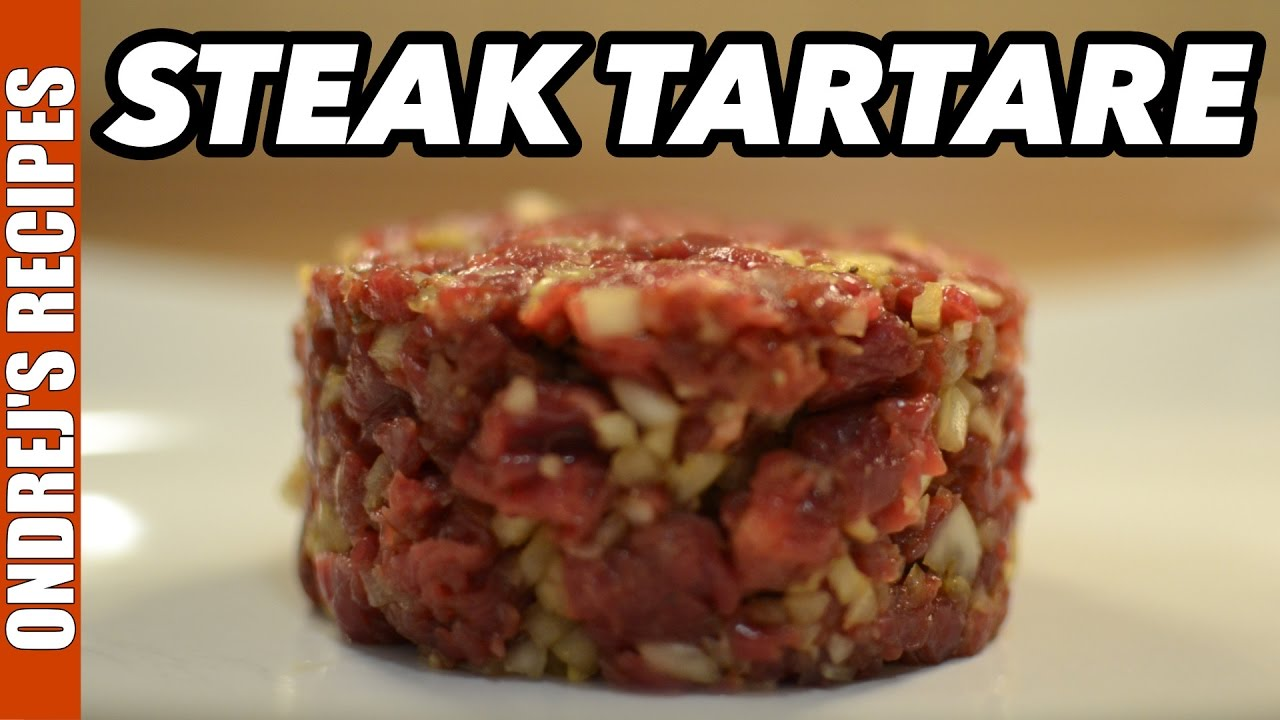 Steak Tartare Recipe | Food Network |Steak Tartare Recipe