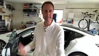 Cleaning my Tesla Model 3