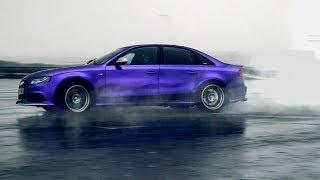 АУДИ 3.0 TDI УДИВИЛ БМВ X6 M! Быстрый дизель AUDI A4 vs BMW X6 M