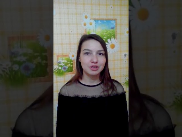 """Дмитриева Анастасия читает произведение «""""Одиночество""""» (Бунин Иван Алексеевич)"""
