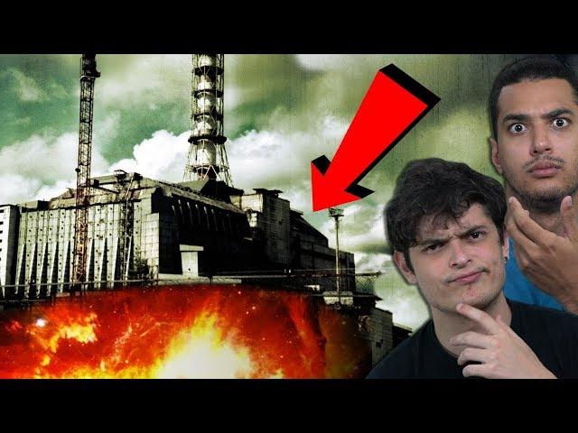 O QUE HÁ DEBAIXO DA USINA DE CHERNOBYL??
