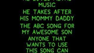 abc song for my son raiden wmv