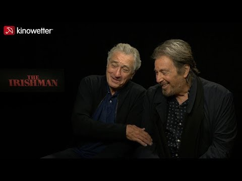 Interview Robert De Niro & Al Pacino THE IRISHMAN