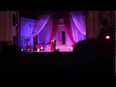 LIPPEN SCHWEIGEN duet, The Merry Widow Opera, Aaron Durand and Shadan Saul