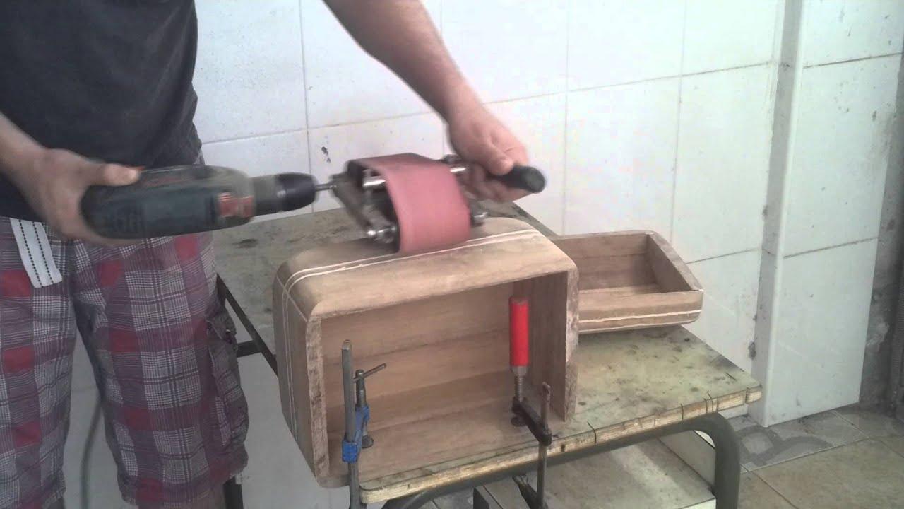 Sand belt diy lijadora casera 123vid - Lijadora para madera ...