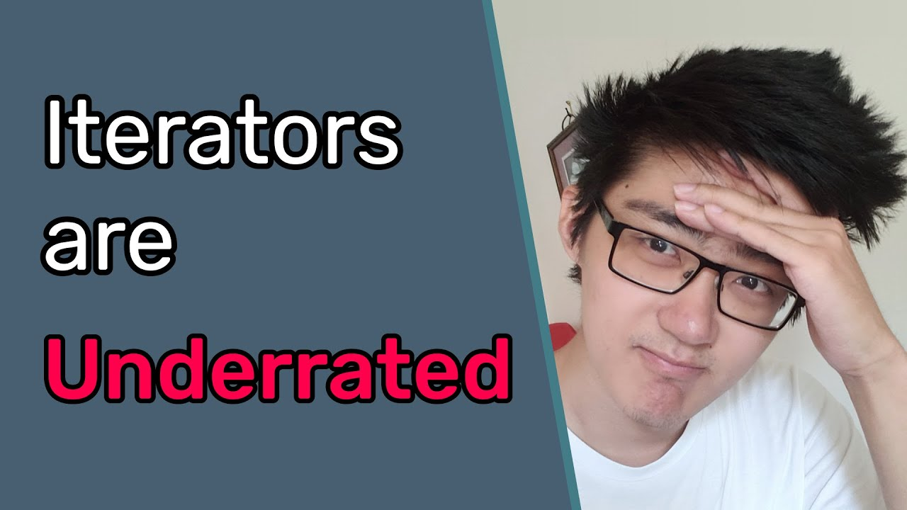 Iterators. And Why You Should Use Them (More)