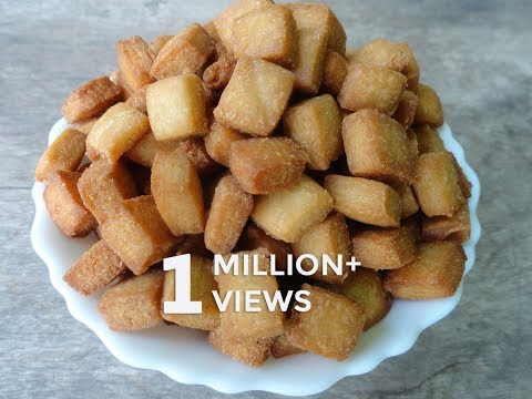 சுலபமான முறையில் கோதுமை பிஸ்கட் | Wheat Biscuits | Shakar Para