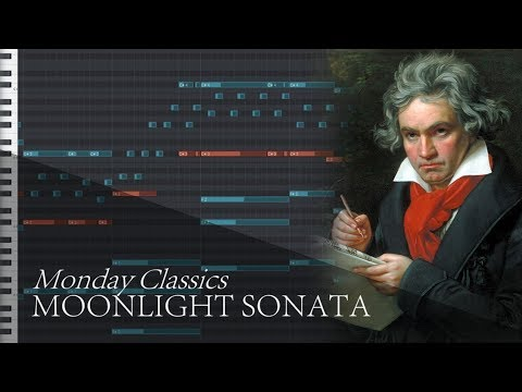Moonlight Sonata 1st Mvt - Beethoven | Monday Classics - Regardt Stander
