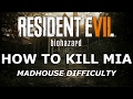 Resident Evil 7 How To Kill Mia Madhouse Difficulty mp3