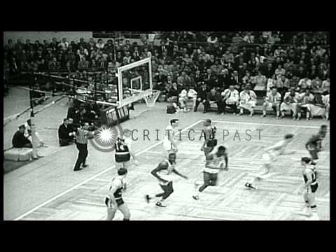 Boston Celtics beat the Los Angeles Lakers to win the National Basketball Associa...HD Stock Footage
