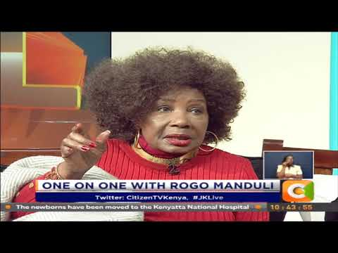 JKL | One on One with Rogo Manduli [Part 2]  #JKLive