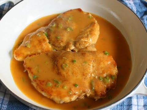 Chicken With Chipotle Green Onion Gravy Chicken Breast With Pan