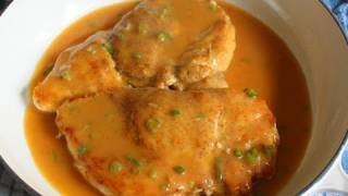 Chicken With Chipotle & Green Onion Gravy - Chicken Breast With Pan Gravy Recipe