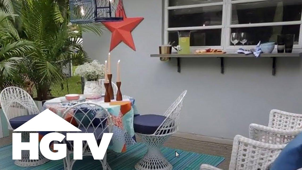 Designing a beachy outdoor dining room hgtv