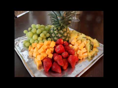 Cool Fruit tray arrangement ideas