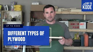 Different types of Plywood and their uses