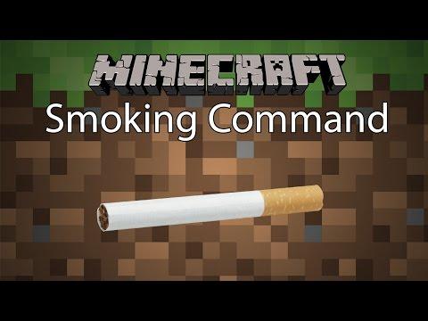 Minecraft Command รีวิว(ฉบับละคร) - การสูบบุหรี่ | Smoking