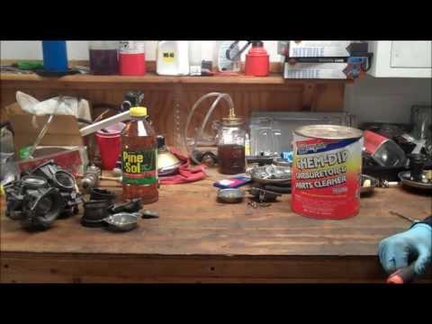 Carb Cleaning Pinesol vs  Berryman Chem Dip