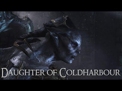 Daughter of Coldharbour - Skyrim Stealth Gameplay - Mzinchaleft