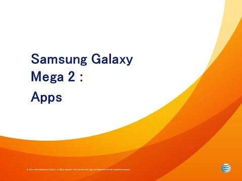 Samsung Galaxy Mega 2 : Apps