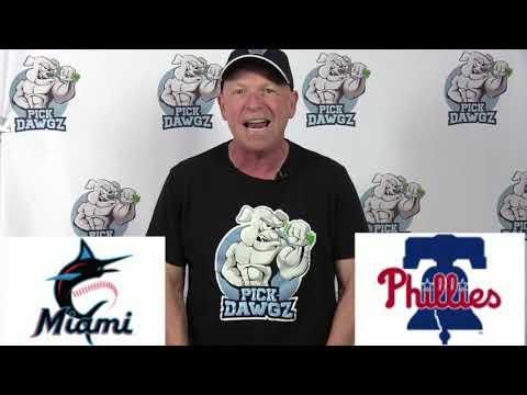 Philadelphia Phillies vs Miami Marlins Free Pick 7/24/20 MLB Pick and Prediction