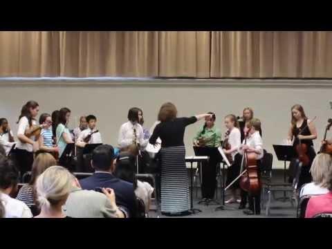 Allegro in D for Strings, by A. Vivaldi/arr. Frackenpohl