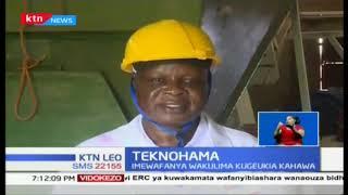Mashine ya kipekee ya kutengeneza na kuchanganya vyakula vya mifugo eneo la Mumias| Teknohama