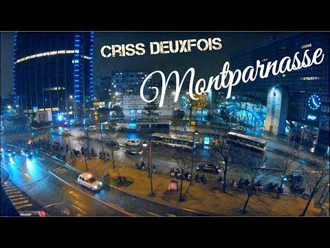 Gare Montparnasse ; La Nuit entre 20H15 et 4H05 du Matin ; Paris ; France