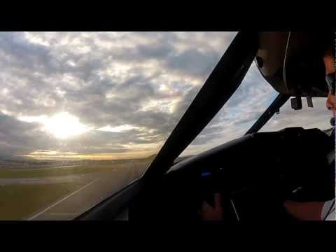 GoPro CL601 Takeoff From CYVR Cockpit View