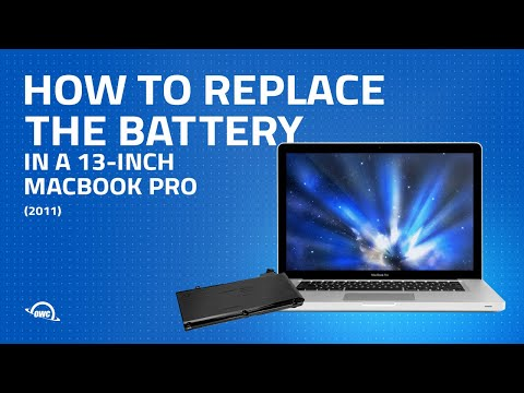 How to Replace MacBook Pro Battery, Unibody 13-Inch