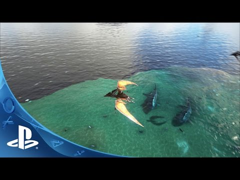 ARK: Survival Evolved – Announcement Trailer | PS4