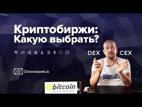 Централизованные и децентрализованные криптобиржи: что выбрать? CEX Vs DEX.