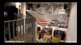 ロンドンのsupreme店内で撮影許可がでた!