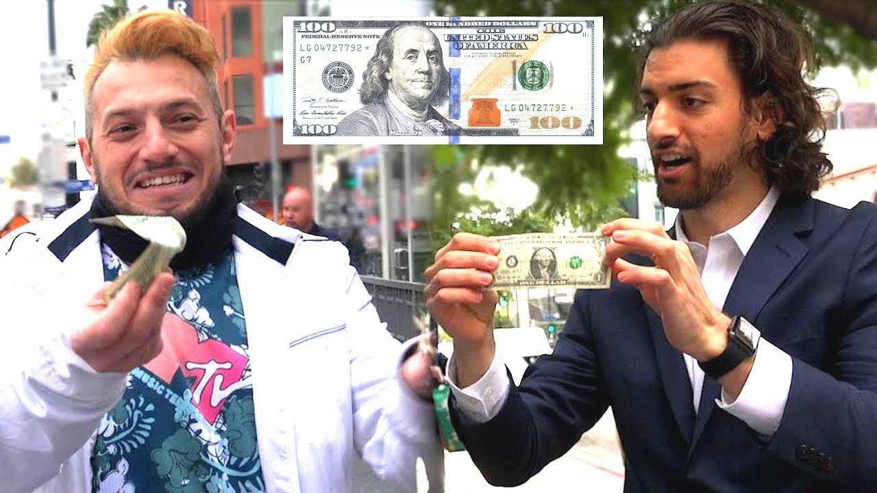 STEALING MONEY, MAGIC TRICK PRANK ON STRANGERS
