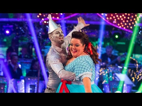 Lisa Riley Jives to 'Step into Christmas' - Strictly Come Dancing Christmas Special 2014 - BBC