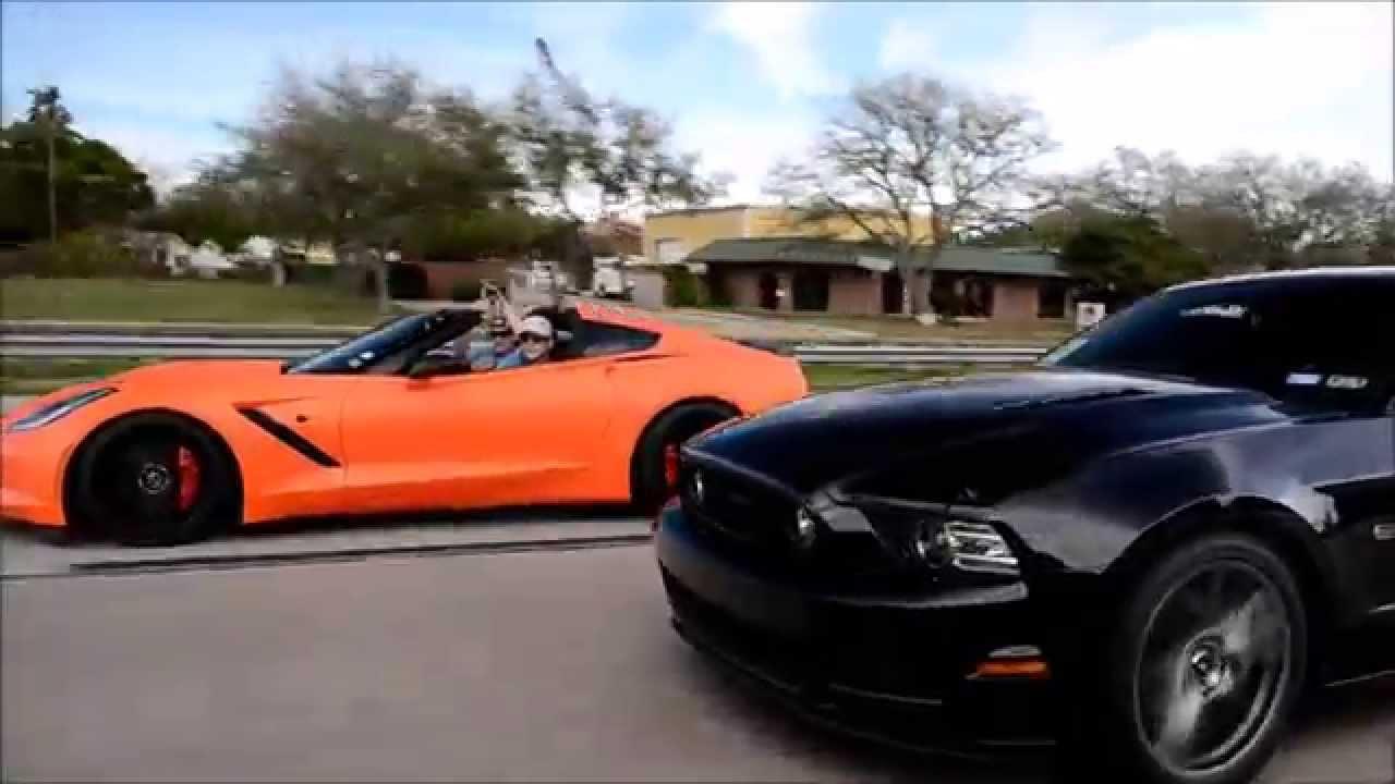 Cts V Vs C7 Stingray Boostlogic Gtr Viper C6 Vettes Coyote Mustang Gt Youtube