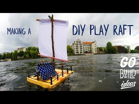 How To Make A DIY PLAY RAFT For Kids