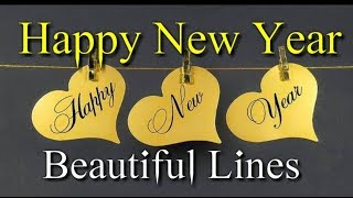 Happy New Year 2019 🌷 New Year Status Beautiful Lines On Happy New Year