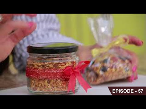 Learn how to make Healthy & Crunchy Granola Cereal with oats, honey, seeds, nuts and dry fruits