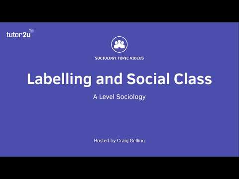 Education: Labelling and Social Class