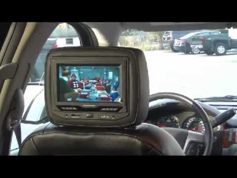 GM Chevrolet GMC Cadillac Headrest DVD System integrated ...