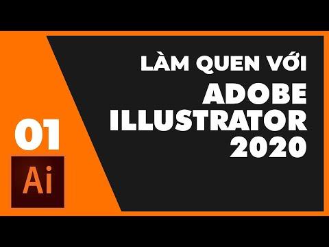 Bài 1: Làm quen với Adobe Illustrator 2020   Thùy Uyên