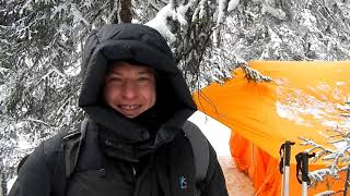 Аргиджек. палатка с печкой