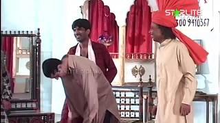 Amanullah Sajan Abbas and Zafri Khan Pakistani Stage Drama Full Comedy Clip