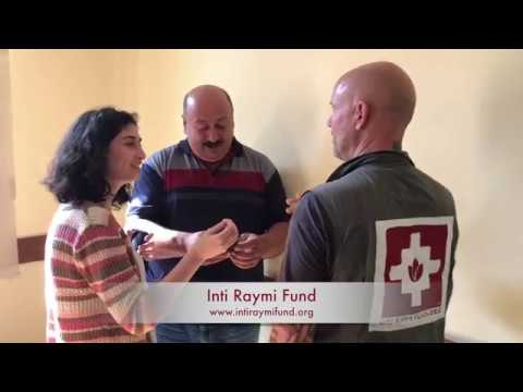 Georgia Internally Displaced Peoples get support from Inti Raymi Fund.