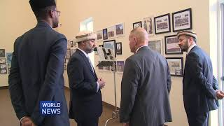 Four star general visits Ahmadiyya mosque