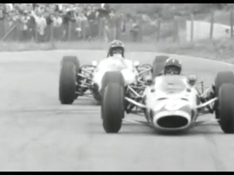 Jim Clark wint Grand Prix Zandvoort (1965)